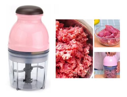 Imagen 1 de 8 de Picadora Cortadora De Carne Eléctrica Multifunción Clicshop
