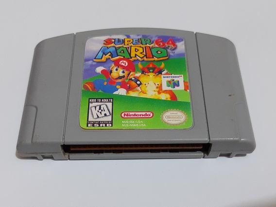 Super Mario 64 N64 Original Americano! Funcionando Perfeito!