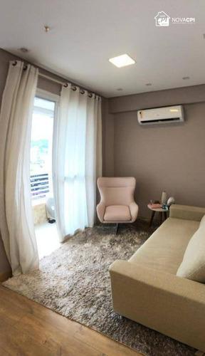 Sala Para Alugar, 42 M² Por R$ 2.500,00/mês - Centro - Santos/sp - Sa0052