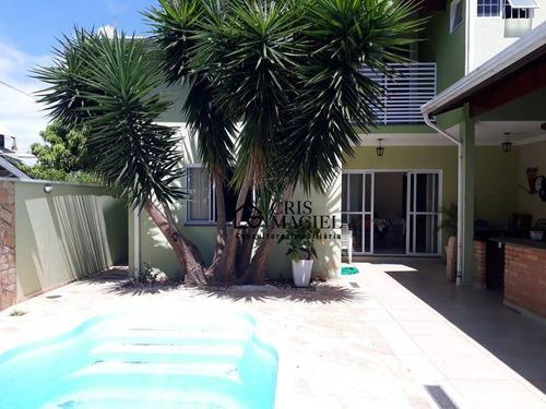 Sobrado Com 3 Dormitórios À Venda, 220 M² Por R$ 750.000 - Jardim Bela Vista - Indaiatuba/sp - Ca0188