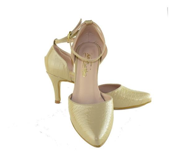 Zapatos De Tacón 7 De Vestir Para Mujer. Negros. Beige.