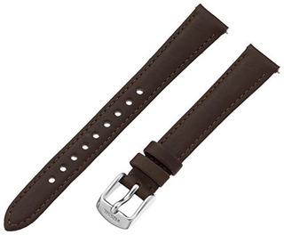 Fossil Womens S141066 Leather 14mm Correa Reloj Espresso