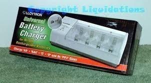 Carregador Pilhas Universal Aa Aaa C D 9v Bateria Energizer