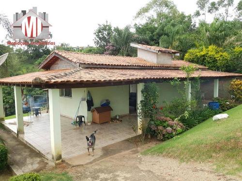 Imagem 1 de 30 de Excelente Chácara Com Escritura,  02 Dormitórios, Pomar, Pertinho Da Cidade À Venda, 1000 M² Por R$ 250.000 - Zona Rural - Pinhalzinho/sp - Ch0668