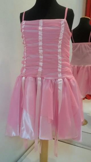 Vestido De Nena De Fiesta - Art 36g9 - Ultimos En Talle 6