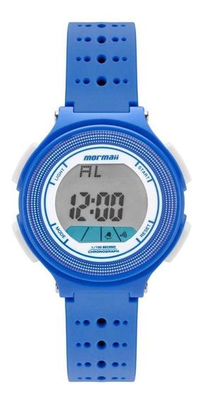 Relógio Infantil Unissex Mormaii Fun Mo0974/8a 35mm Azul