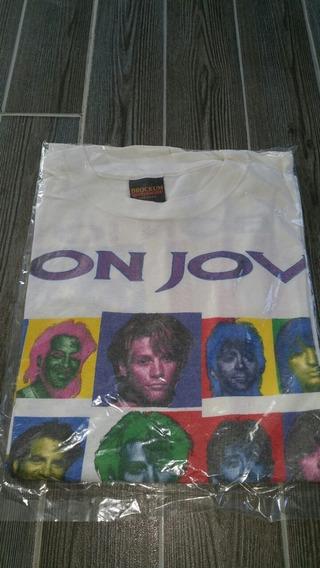 Playera Bon Jovi Keep The Faith Tour 1993 Vintage Usa