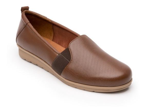 Zapato Flexi Mujer 102802 Tan Casual