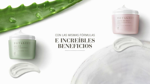 Totalist | Crema Multiacción Rostro | Aloe - Concha De Nacar