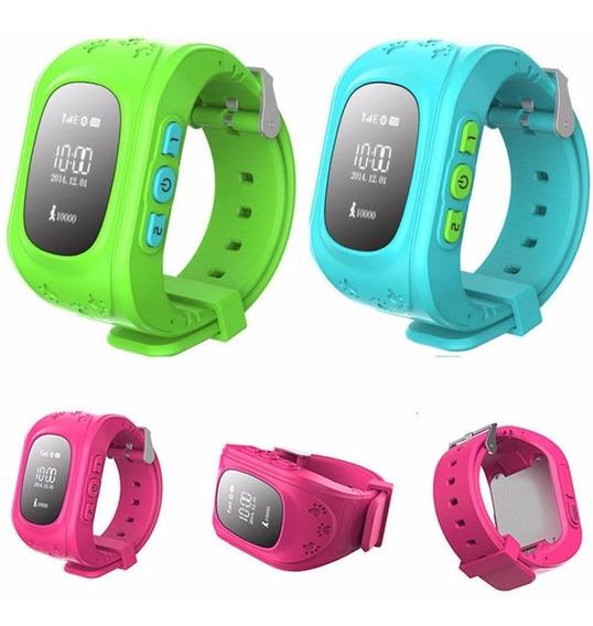 Pulsera Reloj Q50 Gps Tracker Localizador Para Niños