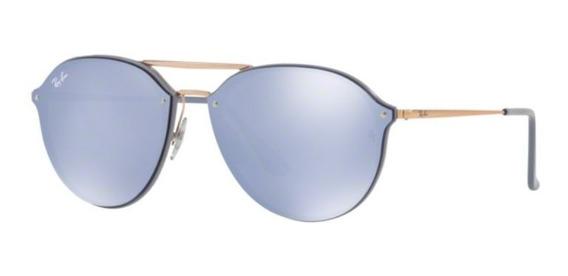 Oculos Sol Ray Ban Blaze Doublebridge Rb4292n 63261u Violeta