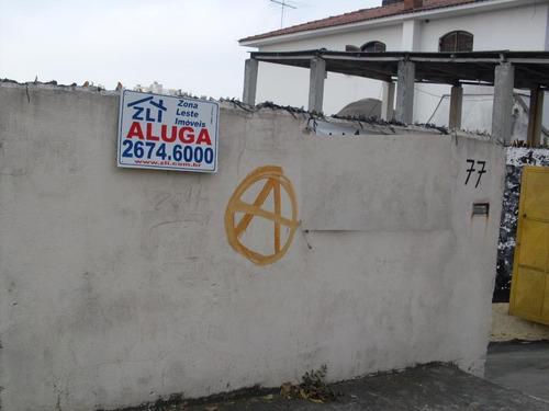Terreno Residencial Para Locação, Vila Formosa, São Paulo. - Te0332
