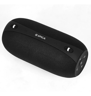 Parlante Premium Spica Bluetooth 4.2 Stereo Radio Fm Sd Agua