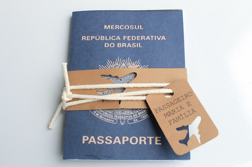 Imagem 1 de 4 de Convite Passaporte Aviador