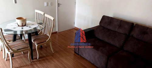 Apartamento Com 3 Dormitórios À Venda, 60 M² Por R$ 280.000 - Jardim Dona Regina - Santa Bárbara D'oeste/sp - Ap1519