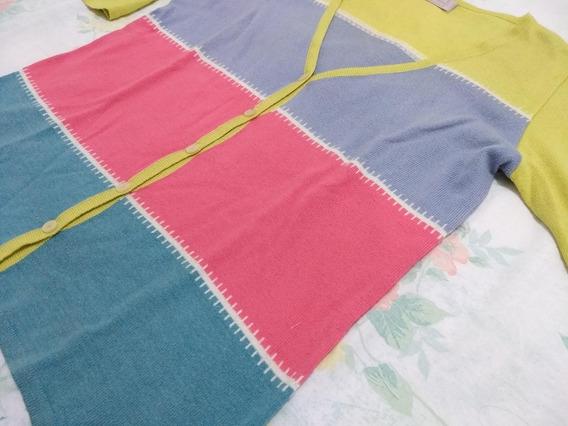 Cardigan De Verano Multicolor