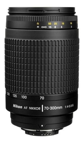 Lente Nikon Af Nikkor 70-300mm 4-5.6g Muito Conservada