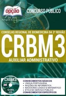 Apostila Crbm3 Auxiliar Administrativo 2017+cd