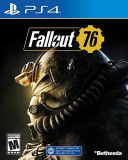 Ps4 Juego Fallout 76 Para Playstation 4