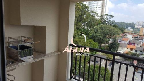 Apartamento Novo Com 2 Dormitórios À Venda, 69 M² Por R$ 380.000 - Vila Dusi - São Bernardo Do Campo/sp - Ap2377