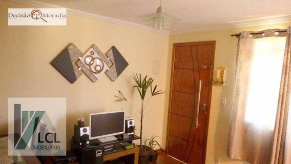 Apartamento Com 2 Dormitórios À Venda, 47 M² Por R$ 195.000,00 - Parque Jane - Embu Das Artes/sp - Ap0030