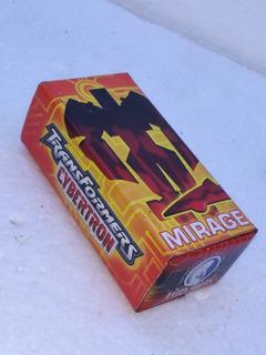 Transformers Cybertron Mirage Caja De Lata