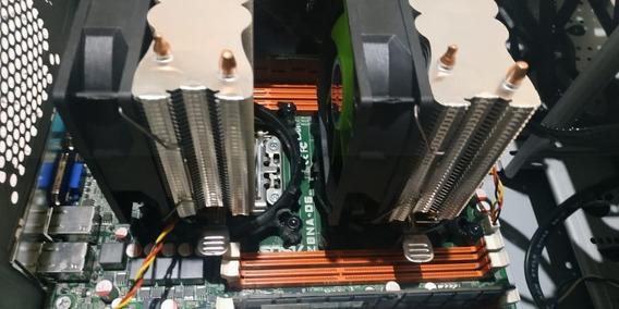 Pc Para Render Xeon 24 Nucleos + 240ssd + 16gb Ram + Corsair