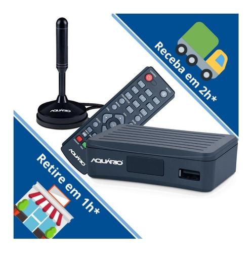 Kit Conversor E Antena Dtv-4100 Antena Hdtv Na Mão Em 1 Hora