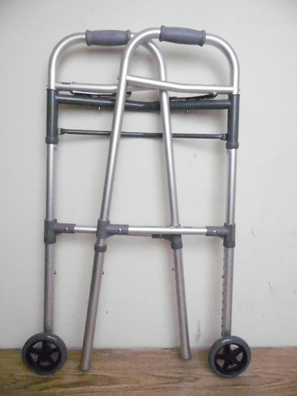 Andadera Caminadora Plegable Metalica Hasta 125 Kilos K507