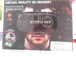 Utopia 360° Lentes Realidad Virtual Nuevos Empaque Sellados
