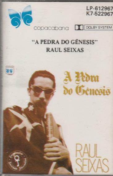 Raul Seixas - Fita Cassete K7 A Pedra Do Gênesis - 1988