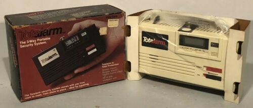 Vintage Total Alarm 3 Way Alarm Clock Detector De Humo Sist