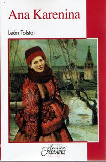 Libro Ana Karenina León Tolstoi