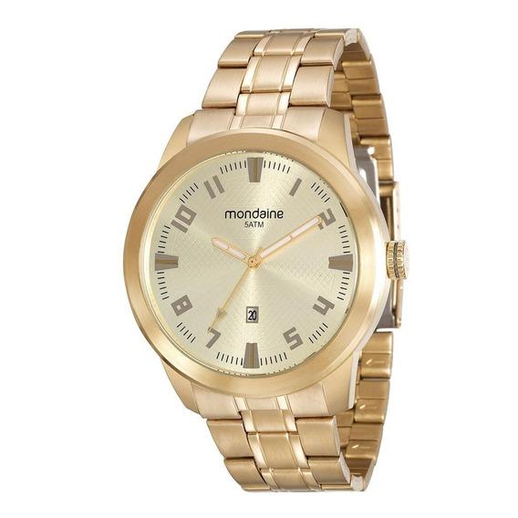Relógio Mondaine Masculino 99156gpmvda2 Dourado