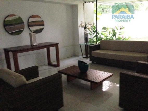 Cobertura Residencial Para Locação, Cabo Branco, João Pessoa. - Co0005