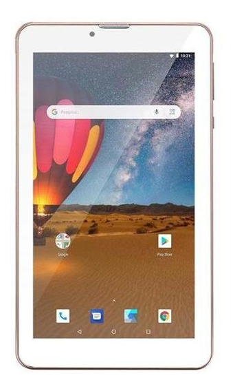Tablet Dual Chip Rosa 3g Wifi 16gb Android 8 Tela 7 Ips