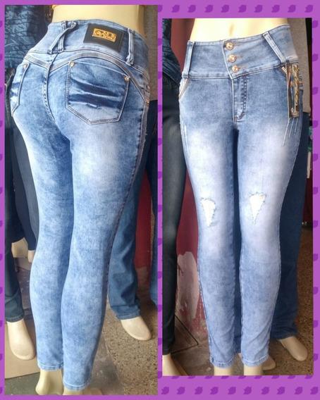 Calca Jeans Feminina, Muita Lycra,lançamento