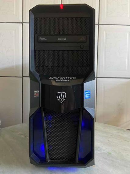 Computador Processador Amd 6300 Placa De Vídeo Gerorcegtx560