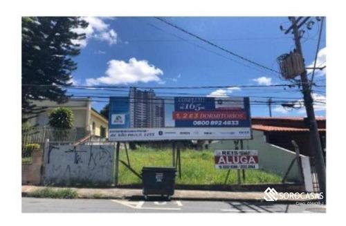 Imagem 1 de 1 de Terreno, 432 M² - Venda Por R$ 750.000,00 Ou Aluguel Por R$ 3.900,00/mês - Jardim Santa Rosália - Sorocaba/sp - Te1110