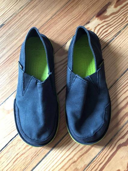 Crocs Negras Plantllla 22 Cm J2 Impecable J2 22 Cm