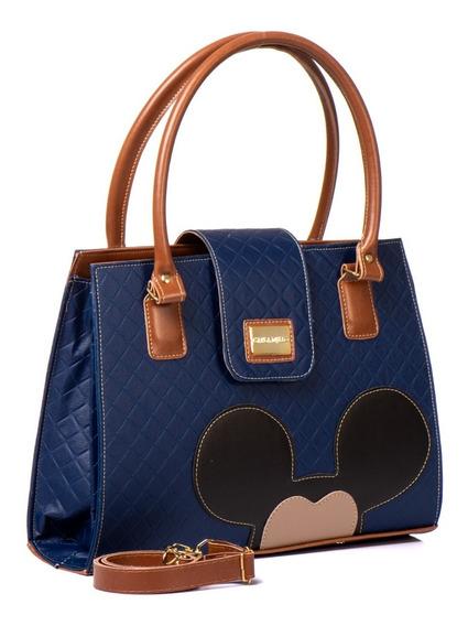 Bolsas Femininas Tiracolo Tampa Transversal Mickey Mouse