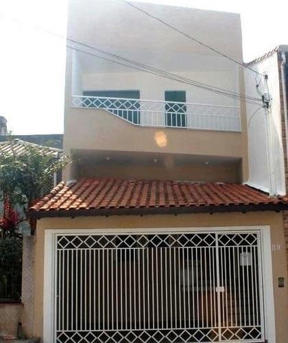 Sobrado À Venda, 225 M² Por R$ 800.000,00 - Parque São Lucas - São Paulo/sp - So1329