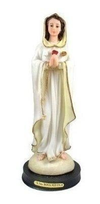 Imagem Nossa Senhora Da Rosa Mistica 20 Cm Resina Nacional