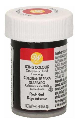 Colorante Para Reposteria Color Rojo Wilton