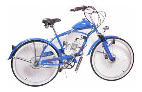 Imagen 1 de 2 de Bicicleta Moskito Motor 2t 48cc Vel Max 50 Km/h