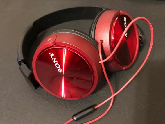Fone Sony Mdr-zx310 Vermelho