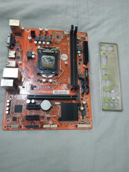 Placa Mãe Pcware Ipmh110g Com Defeito - Fica Congelando