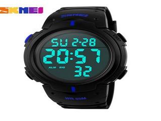 Reloj Hombre Deportivo De Buceo 50m Digital Led