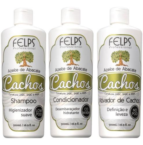 Cachos Felps Shampoo+condicionador+ Ativador + Brinde!!