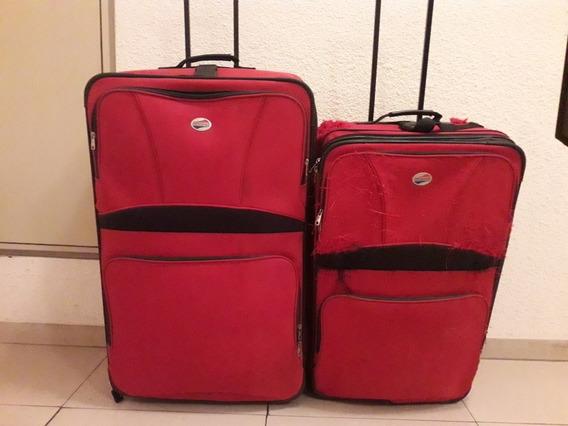 Set De 2 Valijas American Tourister Rojas